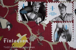 Postage stamps designed by Tom of Finland
